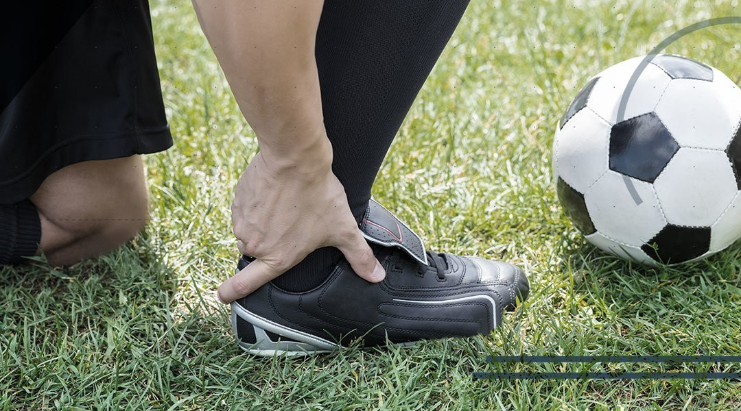 Distorsione di caviglia. Il calcio una passione rischiosa?
