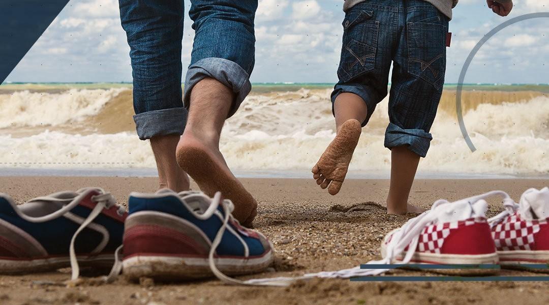Il piede piatto nel bambino: quando consultare uno specialista