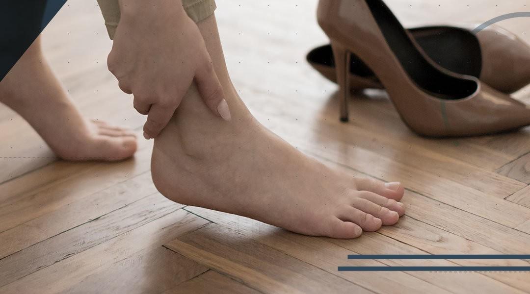 La lesione dei legamenti della caviglia