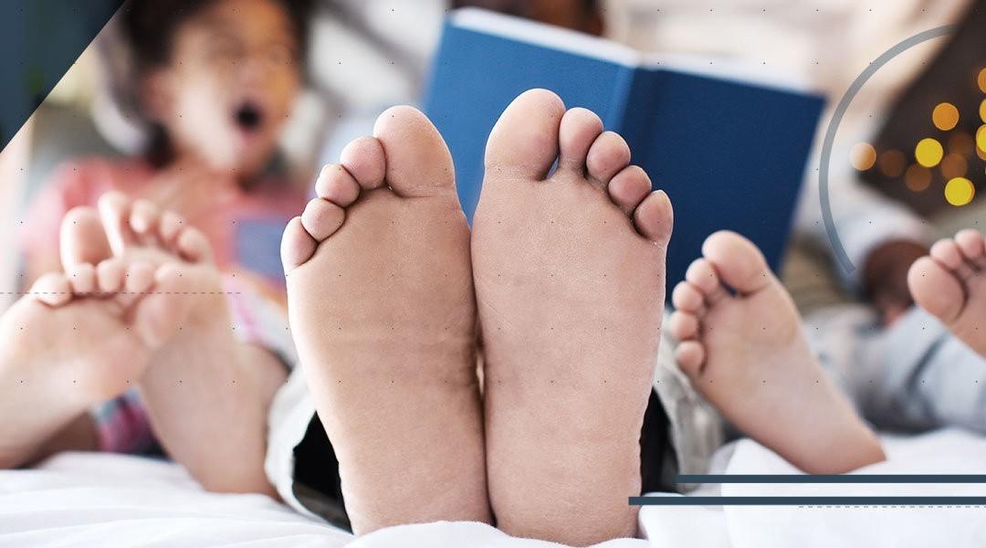 8-10-1: i numeri dell'intervento per il piede piatto nel bambino